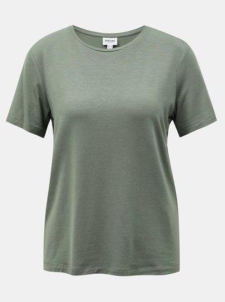 Zelené tričko AWARE by VERO MODA Ava