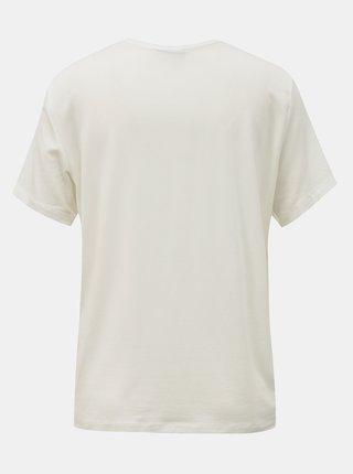 Biele tričko AWARE by VERO MODA Ava