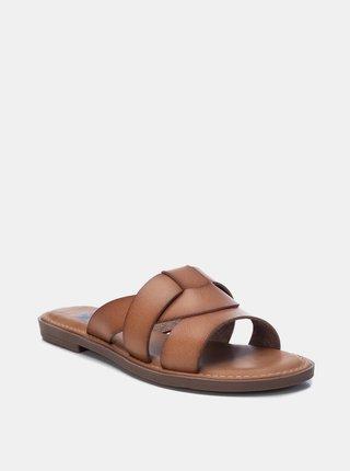 Hnědé dámské pantofle Xti