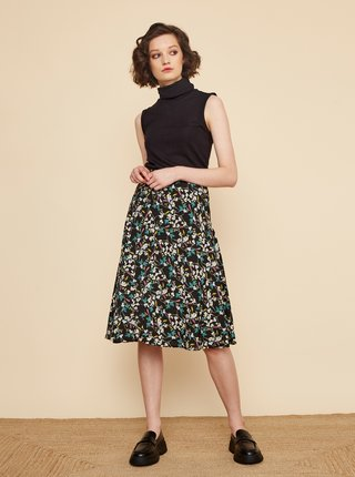 Černá květovaná sukně ZOOT Valencie