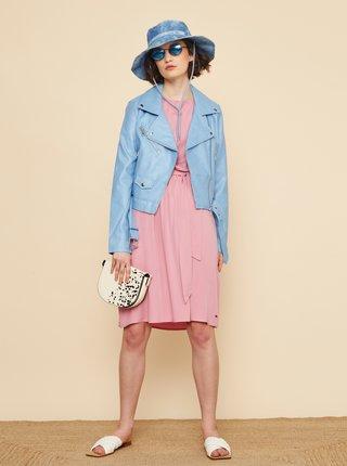 Růžové šaty s volány ZOOT Mollie