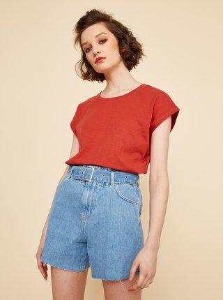 Červené dámské dlouhé tričko ZOOT June