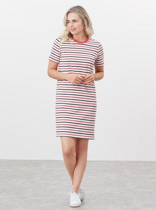 Červeno-bílé dámské pruhované šaty Tom Joule