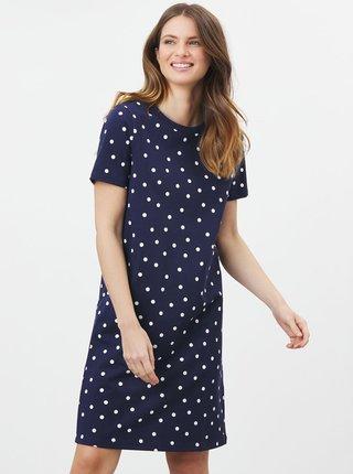 Tmavě modré dámské puntíkované šaty Tom Joule