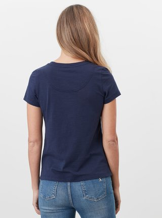 Tmavě modré dámské tričko Tom Joule