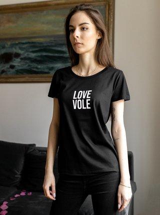 Černé dámské tričko ZOOT Original Love Vole
