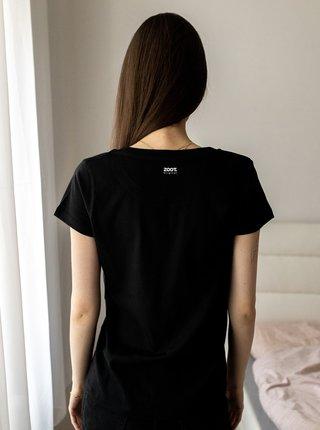 Černé dámské tričko ZOOT Original Láska