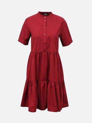 Vínové košilové šaty s kapsami ZOOT Taylor