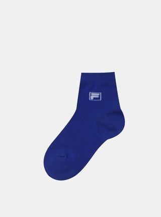 Sada tří párů dětských ponožek v modré a černé barvě FILA