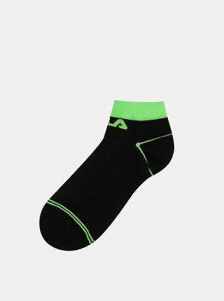 Sada tří párů černých dámských ponožek FILA
