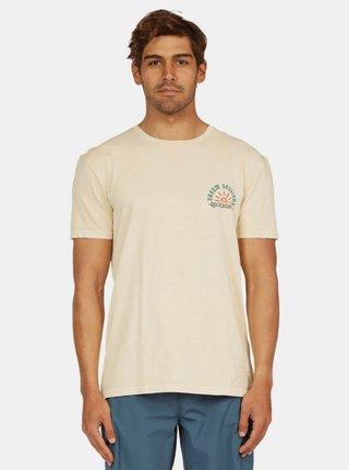 Krémové tričko Quiksilver Quiksilver