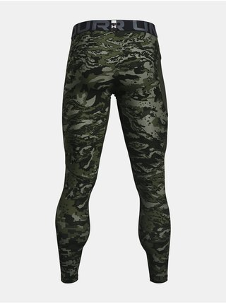 Legíny Under Armour HG Armour Camo Lgs-GRN