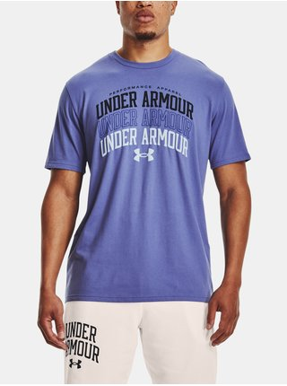 Tričko Under Armour UA MULTI COLOR COLLEGIATE SS-PPL