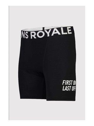 Pánské boxerky Mons Royale merino černé