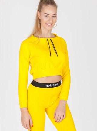 CropTop GoldBee BeCool Yellow