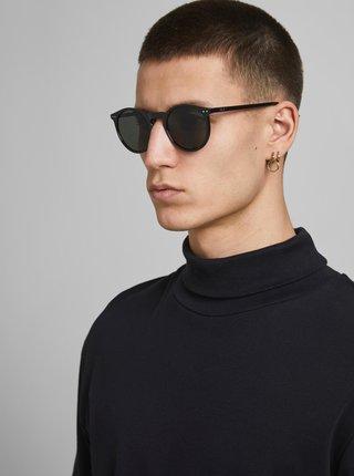 Černé sluneční brýle Jack & Jones Parker