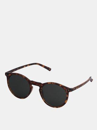 Černo-hnědé vzorované sluneční brýle Jack & Jones Parker