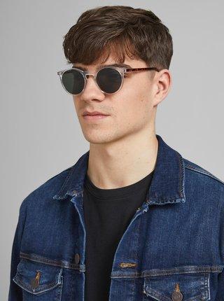 Transparentní vzorované sluneční brýle Jack & Jones Parker
