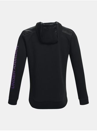 Mikina Under Armour UA Summit Knit Hoodie-BLK