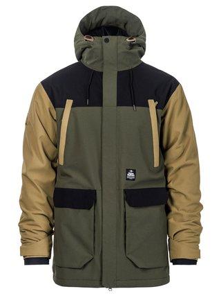 Horsefeathers CORDON olive zimní pánská bunda - zelená