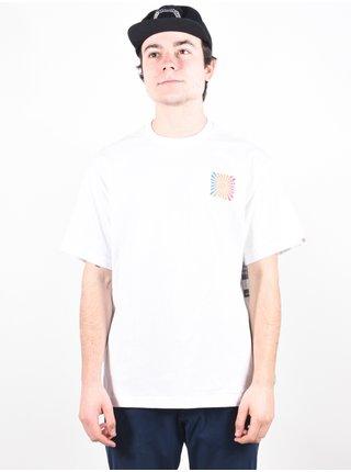 Element DISTORTION OPTIC WHITE pánské triko s krátkým rukávem - bílá