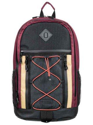 Element CYPRESS OUTWARD VINTAGE RED batoh do školy - černá