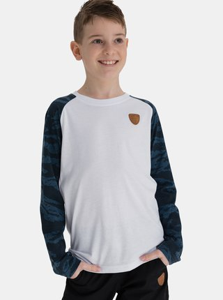 Modro-bílé klučičí tričko SAM 73