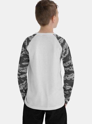 Šedo-bílé klučičí tričko SAM 73