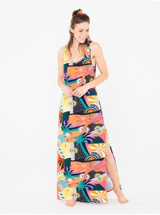 Femi Stories HIMA FYNG dlouhé letní šaty - barevné