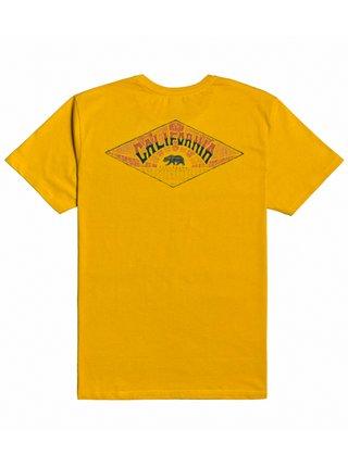 Billabong DREAMY PLACES MUSTARD dětské triko s krátkým rukávem - žlutá