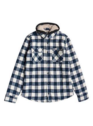 Billabong ALL DAY SHERPA BIRCH dětské košilová bunda - modrá