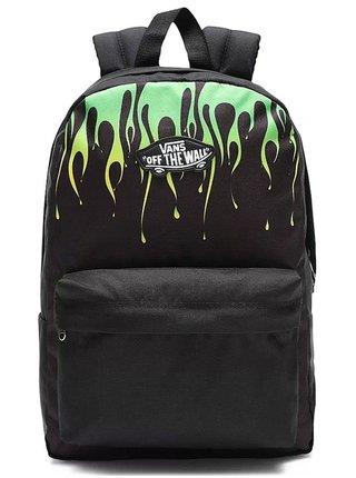 Vans NEW SKOOL BLACK/SLIME batoh do školy - černá