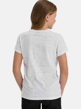 Bílé holčičí tričko s potiskem SAM 73