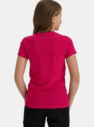 Růžové holčičí tričko s potiskem SAM 73