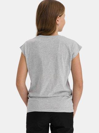 Šedé holčičí tričko s potiskem SAM 73