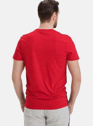 Modro-červené pánské tričko SAM 73
