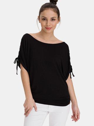 Černé dámské dlouhé tričko SAM 73