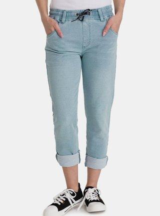 Světle modré dámské straight fit džíny SAM 73