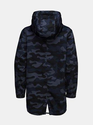 Tmavomodrá chlapčenská maskáčová bunda SAM 73