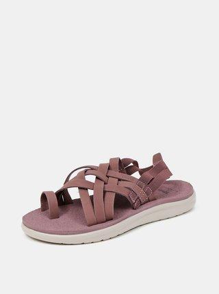 Staroružové dámske kožené sandále Teva