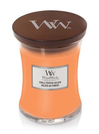 WoodWick vonná svíčka Chilli Pepper Gelato střední váza