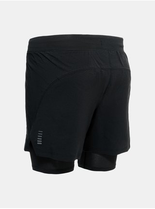 Kraťasy Under Armour UA IsoChill Run 2N1 Short-BLK