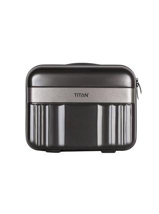 Kosmetický kufřík Titan Spotlight Flash Beauty case Anthracite