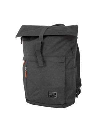 Batoh Travelite Basics Roll-up Backpack Anthracite