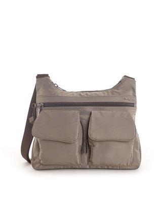 Kabelka Hedgren Shoulderbag Prarie RFID Sepia brown Tone on Tone