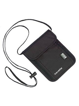 Peněženka Travelite Neck pouch RFID Black