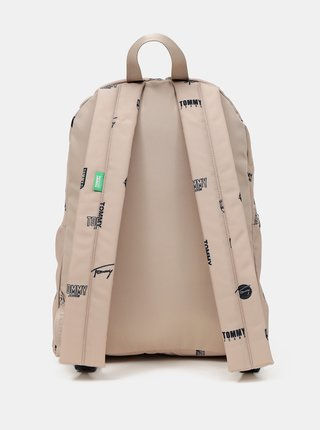 Tommy Hilfiger béžový batoh Campus Dome Backpack Print