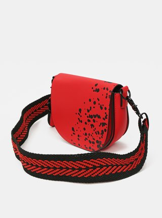 Desigual červené crossbody kabelka Bols Wild Splatt Krabi