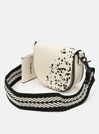 Desigual bílá crossbody kabelka Bols Wild Splatt Krabi