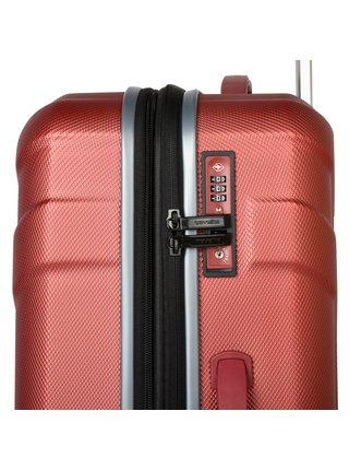 Cestovní kufr Travelite Vector 4w M Coral